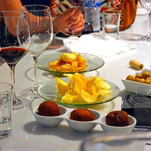 Valencianische Weine und Tapas