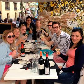 Probe Valencianischer Weine mit Tapas