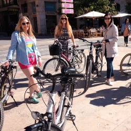 Valencia mit dem Fahrrad