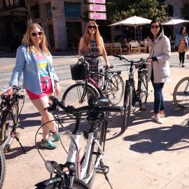 Tour por Valencia en bici y con tapas