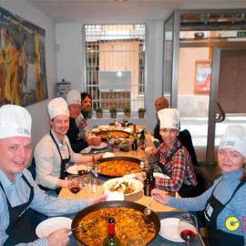 Clase de paella, aprende a cocinar paella valenciana